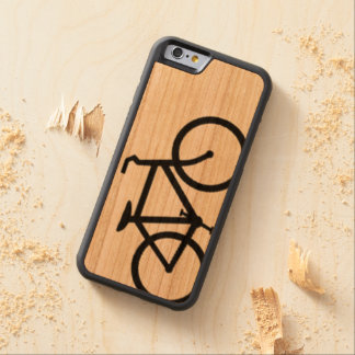 bicycle carved cherry iPhone 6 bumper case