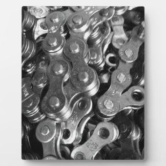 Bicycle Chain Links Plaque