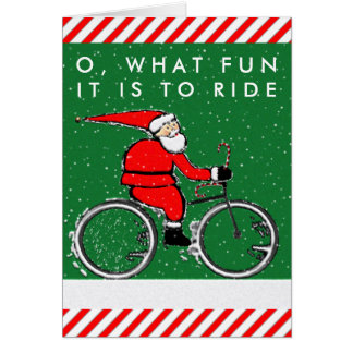 bicycle Christmas cards