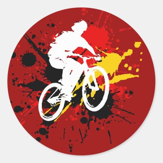 Bicycle Classic Round Sticker