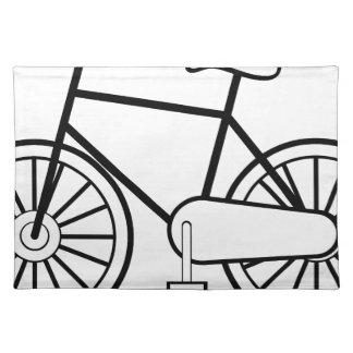 Bicycle Cloth Placemat