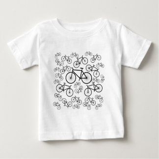 Bicycle Collage Baby T-Shirt