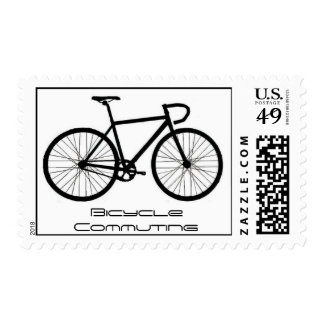 Bicycle Commuting Stamp
