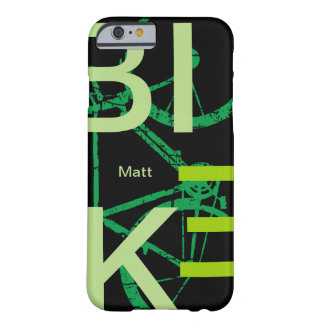 bicycle cool and personalized barely there iPhone 6 case