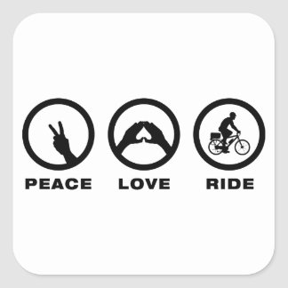 Bicycle Cop Sticker