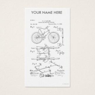 BICYCLE COUPLER PATENT _ CIRCA 1906 BUSINESS CARD