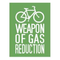 Bicycle custom color postcard