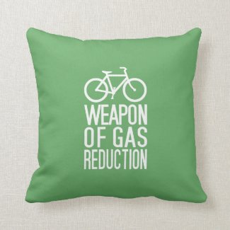 Bicycle custom color throw pillow