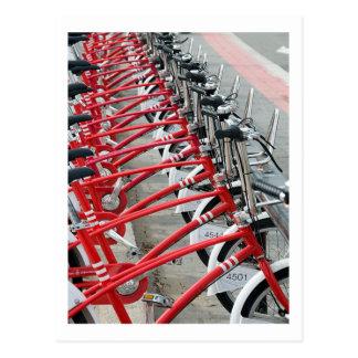 Bicycle Cycle Bicycling Cycling Barcelona Spain Postcard