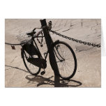 Bicycle Cycle Bicycling Cycling Miami Florida Stationery Note Card