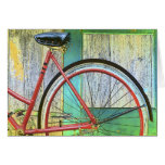 Bicycle Cycle Bicycling Cycling Old Shed Cards