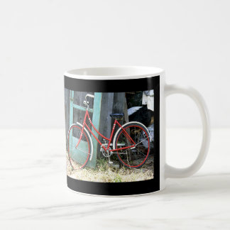Bicycle Cycle Bicycling Cycling Old Shed Coffee Mug