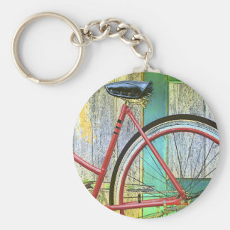 Bicycle Cycle Bicycling Cycling Old Shed Key Chain