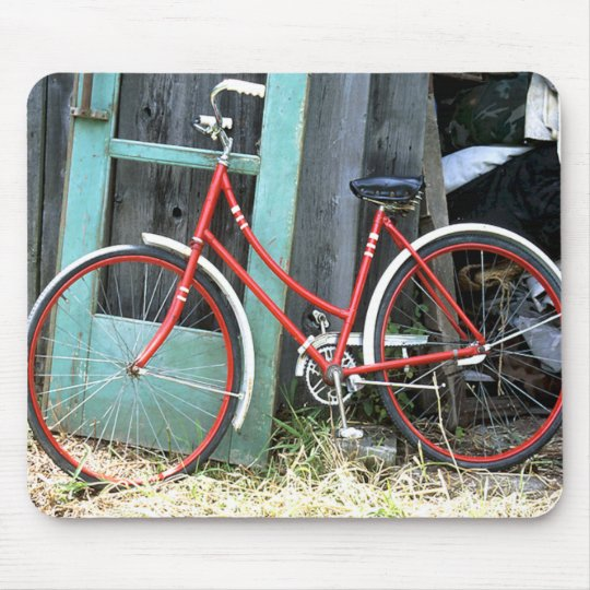 Bicycle Cycle Bicycling Cycling Old Shed Mouse Pad