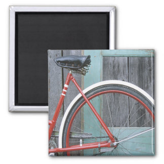 Bicycle Cycle Bicycling Cycling Old Wooden Shed Magnet