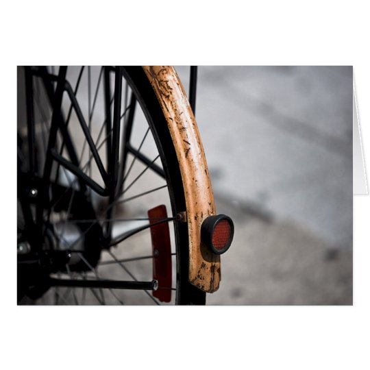 Bicycle Cycle Bicycling Cycling Rusted Bike Card