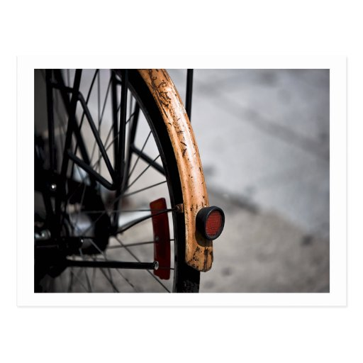 Bicycle Cycle Bicycling Cycling Rusted Bike Postcard