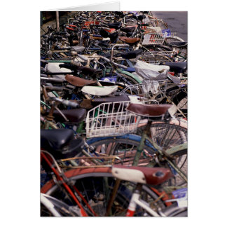 Bicycle Cycle Bicycling Cycling Venice Italy Card