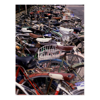 Bicycle Cycle Bicycling Cycling Venice Italy Postcard