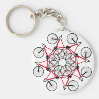Bicycle cycle keychain