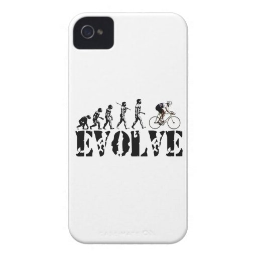 Bicycle Cycling Bike Riding Evolution Sports Art iPhone 4 Case