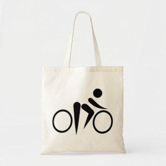 Bicycle Cycling Budget Tote Bag