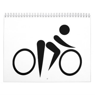 Bicycle Cycling Calendar