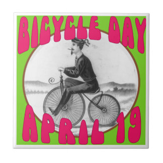 BICYCLE DAY April 19 Tile