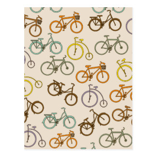 bicycle design postcard