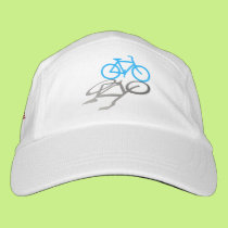 Bicycle Design with Amrican Flag Side Acce Headsweats Hat