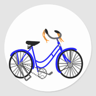 Bicycle Drawing, 1950's Style Stickers
