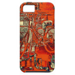 bicycle dreams collage i-phone case iPhone 5 case