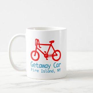 Bicycle Fire Island mug