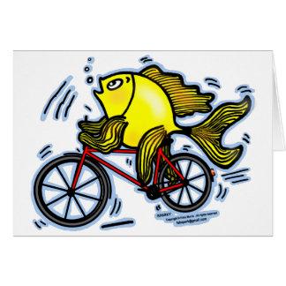 Bicycle Fish (Bike) Card