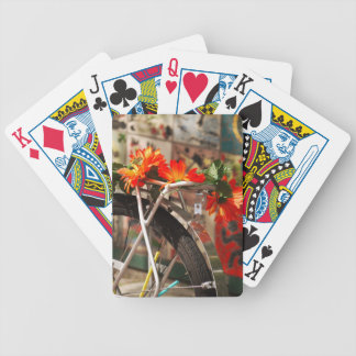 Bicycle Flowers Bicycle Playing Cards
