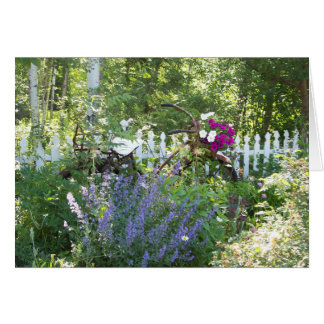 Bicycle Garden Card