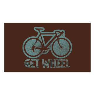 Bicycle - Get Wheel Business Card Template