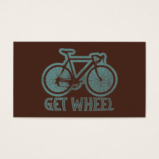 Bicycle - Get Wheel Business Card