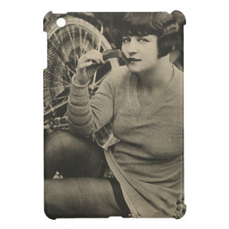 Bicycle Girl Vintage Photograph Case For The iPad Mini