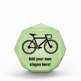 Bicycle Graphic With Your Text - a Cycling Themed Award