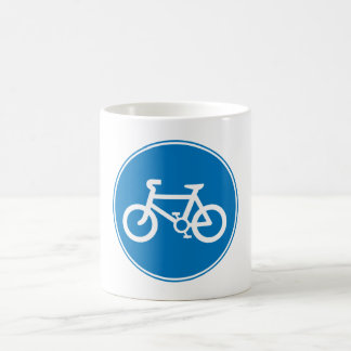 Bicycle Greeting Mug Blue