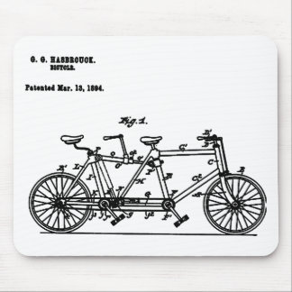 Bicycle Hasbrouk 1894 Mouse Pad