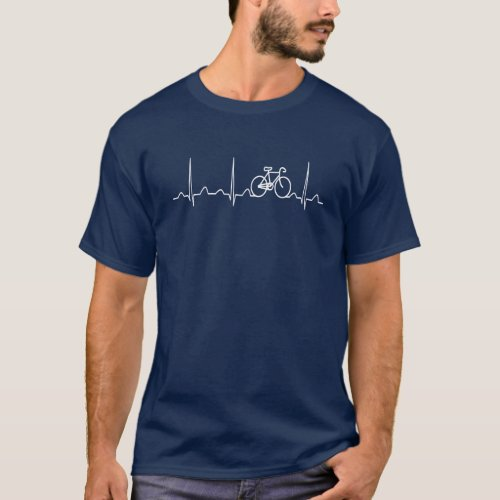BICYCLE HEARTBEAT T_Shirt