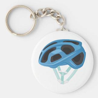 Bicycle Helmet Keychain