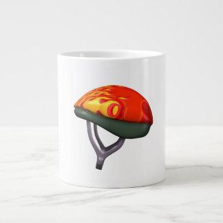 Bicycle Helmet Large Coffee Mug