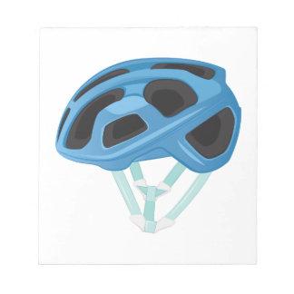 Bicycle Helmet Notepad