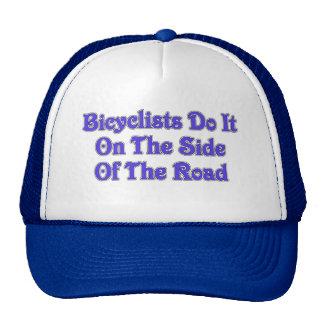 bicycle humor trucker hat