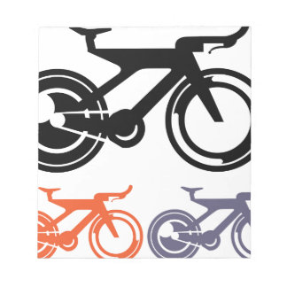 Bicycle Icon Vector Notepad