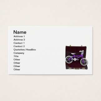 Bicycle in Briefcase Business Card