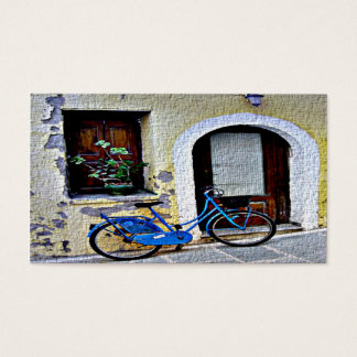 Bicycle In Crete Business Card